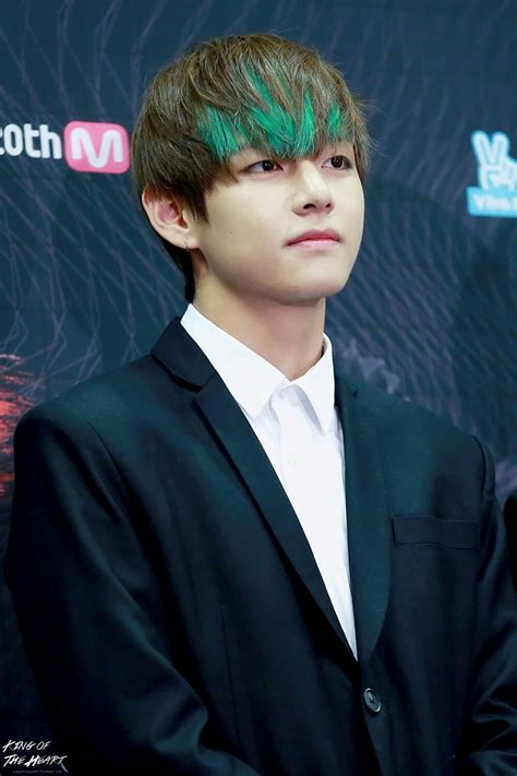 7 of BTS V's Most Outrageous Hair Colors - Koreaboo
