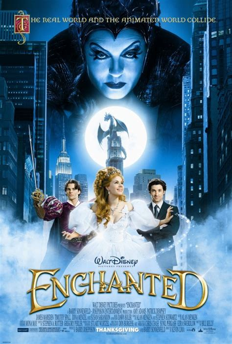 Enchanted Movie Poster (#1 of 7) - IMP Awards