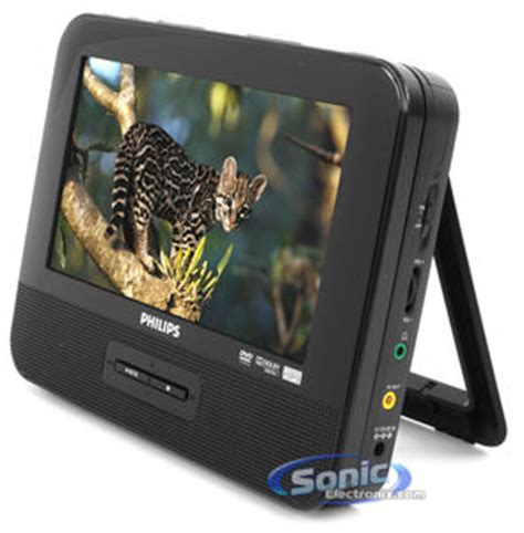 Philips PD7012 Dual 7 Inch Widescreen Portable DVD Player