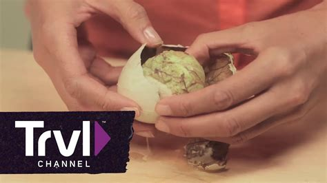Philippines Hangover Cure: Balut Egg - YouTube