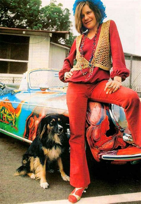 Color Photographs of Janis Joplin in the 1960s