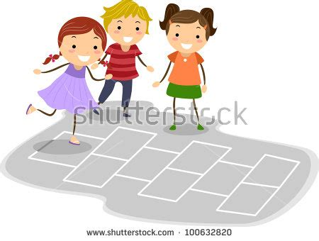 Hopscotch Stock Photos, Images, & Pictures | Shutterstock
