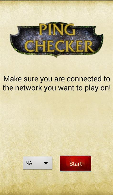 League Ping Check(Test ping) for Android - APK Download