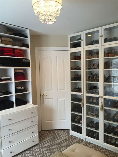 ikea billy bookcases for shoes! | dressing room | Billy