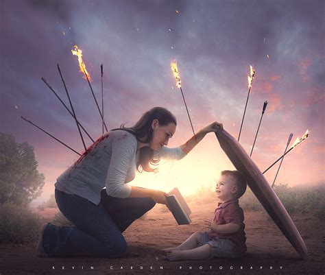 Sacrificial love of a mother by Kevin Carden / 500px