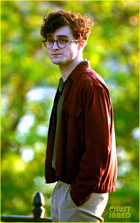 Daniel Radcliffe is Allen Ginsberg for 'Kill Your Darlings