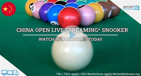 China Open Snooker Live Stream Free Online   SportStreaming24