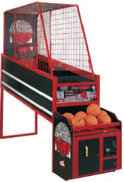 Hoop Fever Coin Operated or Free Play Basketball Arcade