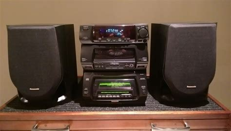 Panasonic 60+1 CD stereo system SC-CH94M For Sale - Canuck