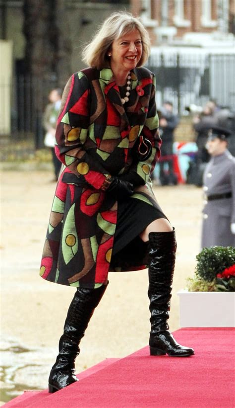 Over-the-Knee Boots   British Prime Minster Theresa May