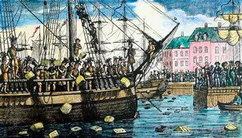 """ESL Note Pad: """"The Boston Tea Party"""" from Voice of America"""