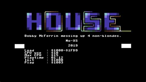 House Designs - Blondes Do It Better   C64 Music - YouTube