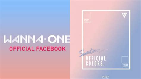 Fans think WANNA ONE are using SEVENTEEN's official