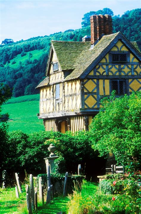 stokesay Castle, near Bishops Castle, shropshire - The