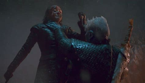 Game of Thrones: Arya's Battle of Winterfell assassination