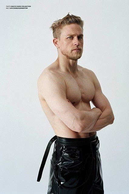Charlie Hunnam Is Shirtless in Tight Leather, Still