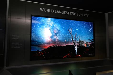 CES 2016: Samsung reveals world's largest 170-inch SUHD