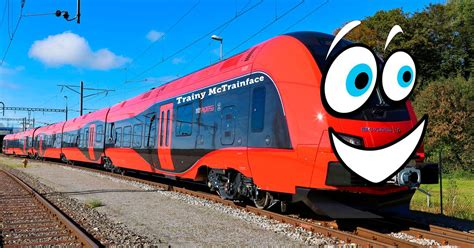 Trainy McTrainface will exist after rail operator agrees