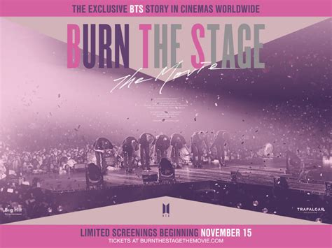 Giveaway: Win Tickets To See BTS' New Film, 'Burn The