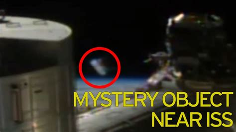 Mysterious 'Alien' cylinder on NASA live feed for