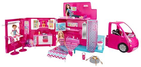 Tb Barbie Sisters Life In The Dreamhouse Camper - $ 6,999
