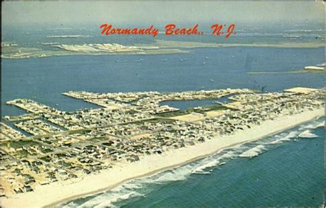 Aerial View Of Normandy Beach Dover Beaches North, NJ