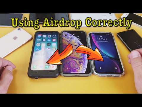How to Turn on AirDrop & Receive AirDrop Files on iPhone