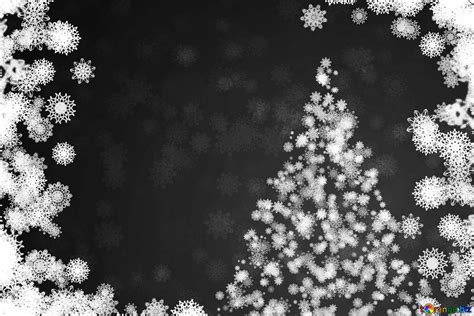 Download free picture Christmas gray background black and
