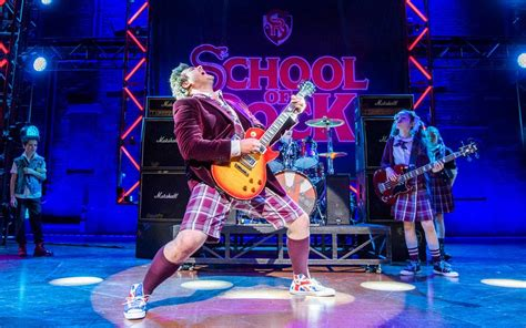 What are the top 5 songs in School of Rock?