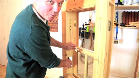 How to replace a sash window cord - Clas Ohlson - YouTube