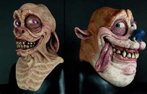 Hyper-Realistic Ren And Stimpy Masks Are Unbelievably
